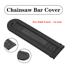 8-12 inch Black Chainsaw Bar Protetic Cover Scabbard Guard Universal Guide Plate Protect The Chainsaw Froming Rusting Wearing