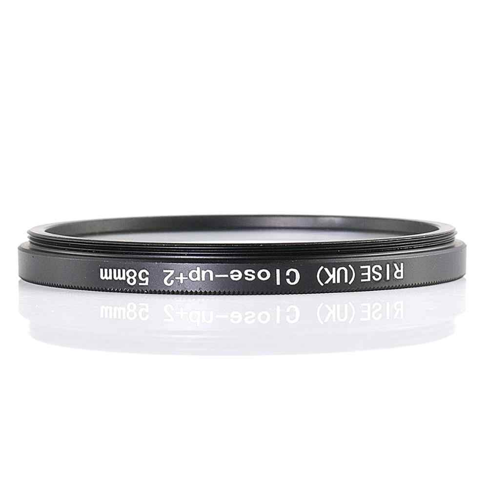 Naik (Inggris) 58 Mm Close-Up + 2 Makro Filter Lensa untuk Nikon Canon SLR DSLR Kamera