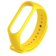 New Smart Watch Band Solid Color Wristband TPU Material Wrist Strap Replacement for Xiaomi Mi Band 3 Smart Bracelet Replacement(China)