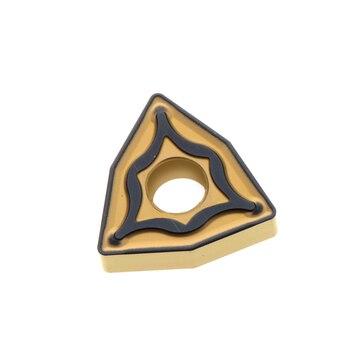 10PCS carbide inserts WNMG080404N-UX AC410 WNMG080408N-UX AC410K WNMG080412N-UX AC410K Kfree shipping