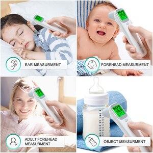 Image 4 - Инфракрасный термометр для лба и ушей, цифровой ЖК термометр для измерения температуры тела, бесконтактный термометр для детей и взрослых