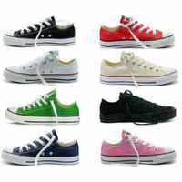 2019 Unisex Womens Dames Chuck-Taylor aylor All Star Lage Ox Hoge Top Womens Trainers Canvas Schoenen Designer Athletic sneakers