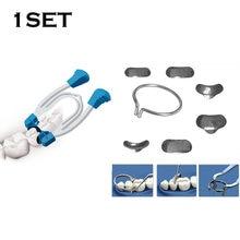 100pcs Dental Matrices Matrix Ring Delta and Sectional Contoured Metal Spring Clip Teeth Matrix Ring