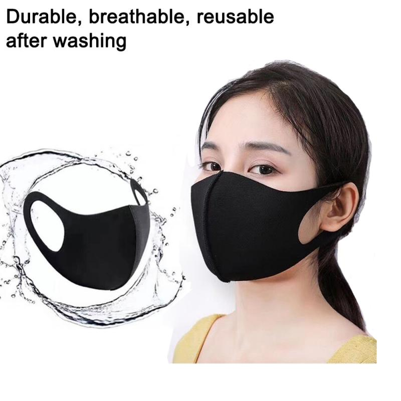 FACE MASKS MOUTH MASK ANTI-DUST WASHABLE CYCLING REUSABLE UNISEX 1/2/5/10/20 PCS Bicycle Mask READY STOCK FAST SHIPPING