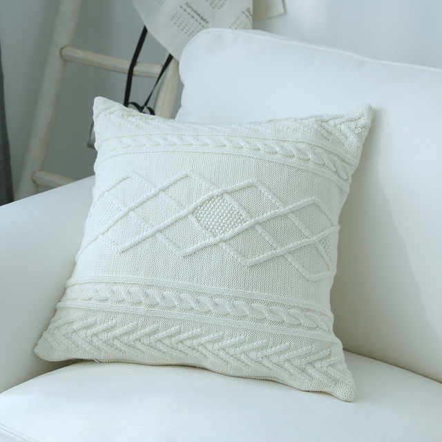 knitted Scatter Cushions 2
