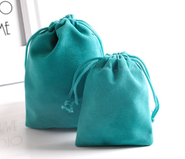The Cufflink Shop 1 x Purple Drawstring Strong Quality Thick Soft Luxurious Velvet Wedding Favour Bags Pouches Jewellery Pouch 7 x 9 cm