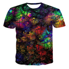Summer New Alternative Style 3D Men's T-Shirts, Colorful Clothing, Fashionable And Complex Street Fashion Tee (Customizable)