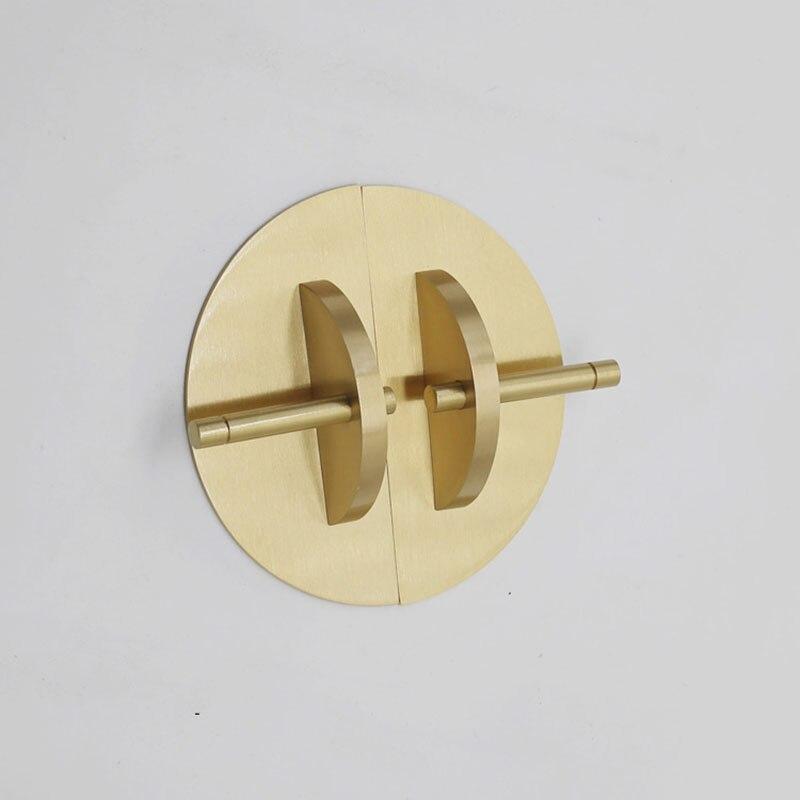 1 ensemble rond en aluminium armoire boutons et poignées tiroir meubles placard armoire armoire boutons livre armoire porte Pull