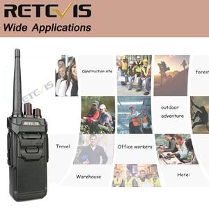 Image 5 - 2pcs RETEVIS RT48/RT648 IP67 Waterproof Walkie Talkie Floating PMR Radio PMR VOX UHF Two Way Radio Comunicador For Baofeng UV 9R