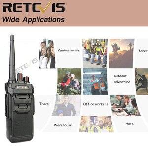 Image 5 - RETEVIS Walkie Talkie impermeable RT48/RT648 IP67 Radio PMR flotante PMR446/FRS VOX con carga USB, Radio bidireccional para Baofeng UV 9R