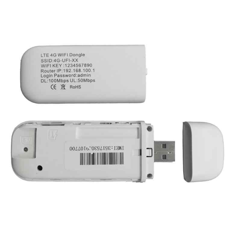 4G LTE USB מודם רשת מתאם עם WiFi Hotspot ה-SIM כרטיס 4G אלחוטי נתב עבור Win XP Vista 7/10 Mac 10.4 IOS