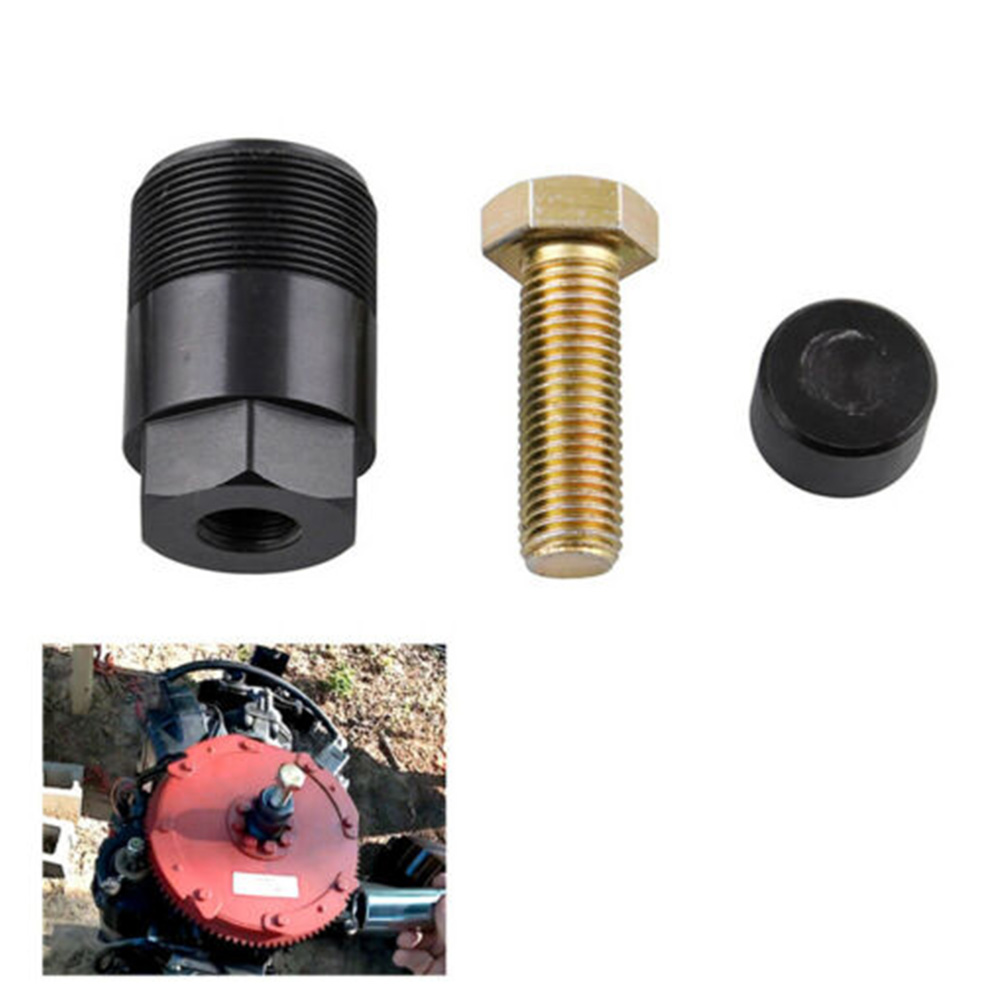 """Removal Tool Repair 1 1/2""""16 91-849154T1 Outboard Motor Easy Apply Threaded Practical Flywheel Puller Replacement For Mercury"""