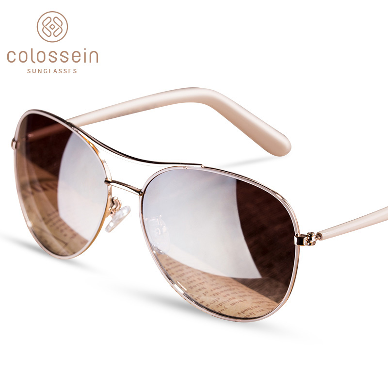COLOSSEIN Sunglasses Women Vintage Sunglasses Retro Women's Glasses Polarized Sunglasses Men Driving Glasses UV400 Shade Mirror