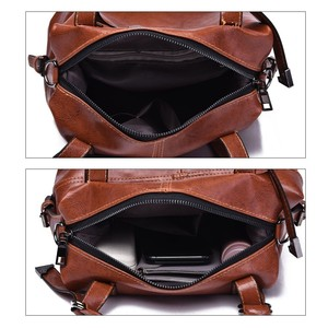 Image 5 - Herald Fashion Woman Bags Crossbody Bags For Women Retro Vintage Ladies Leather Handbags Women Shoulder Bag Female Zipper Sac