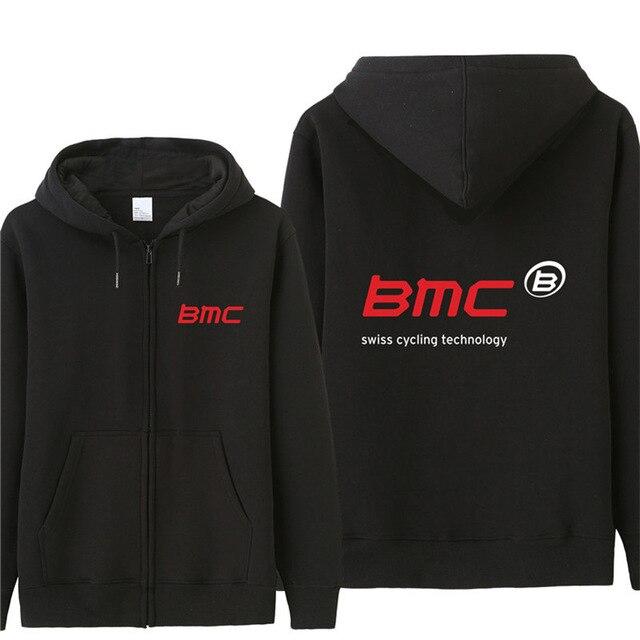 סתיו Bmc שוויץ סווטשירט נים גברים אופנה מעיל סוודר צמר בסוודרים יוניסקס איש Bmc Cyclinger חולצות A