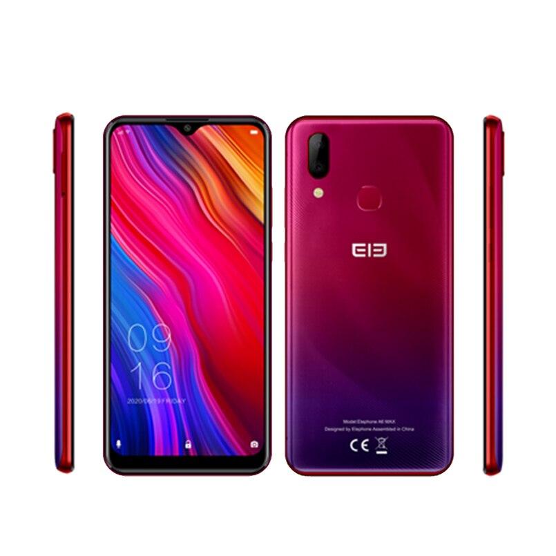Elephone A6 MAX смартфон, 4 Гб 64 ГБ, экран 6,53 дюймов, Восьмиядерный, Android 9,0