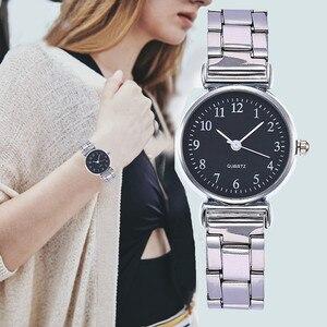 Быстрая доставка Роскошные часы Простой повседневный креативный подарок кварцевые часы для студентов модные классические часы Relogio Digital ...