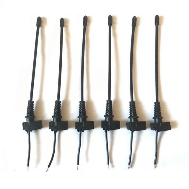 6PCS เสาอากาศสำหรับ Sennheiser EW100G2/100G3 ไมโครโฟนไร้สาย Bodypack ซ่อม MIC