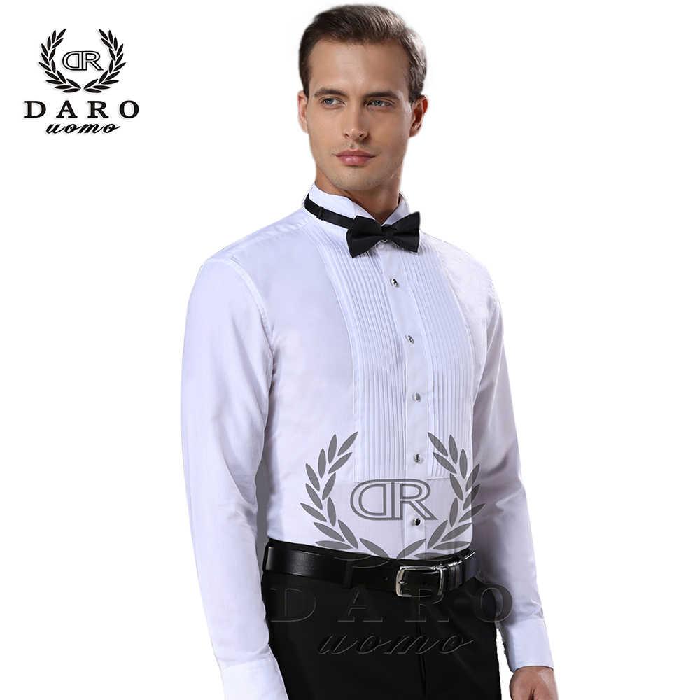 새로운 도착 패션 코튼 남성 셔츠 긴 소매 순수 컬러 남성 턱시도 셔츠 camisas hombre dr883