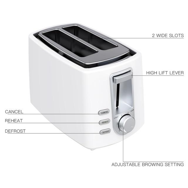 European Toaster Kitchen Gadget Vertical Toaster 4