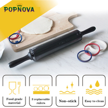 Pad Baking-Mat Bakeware-Tools Rolling-Pin Pizza-Dough Non-Stick Stainless-Steel Adjustable