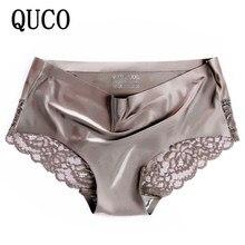 Quco Brand Sexy Vrouwen Ondergoed Hoge Kwaliteit Vrouwen Slipje Naadloze Calvin Ondergoed Effen Laagbouw Lingerie Ondergoed Vrouwen
