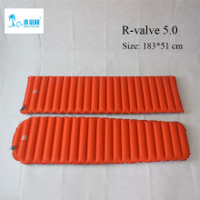 JR Gear R 5.0 PrimaLoft  outdoor sleeping pad moistureproof inflatable air mat  camping air tube bed