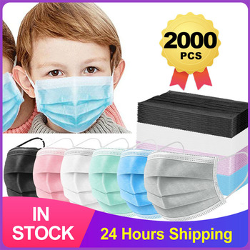 Dziecko 3 warstwy jednorazowa maska medyczna ochrona przed kurzem twarz usta maski chirurgiczne bezpieczne oddychające nauszniki maska dla dzieci tanie i dobre opinie NoEnName_Null 20152642171 Jeden raz Chin kontynentalnych Osobiste 50PCS Non Woven