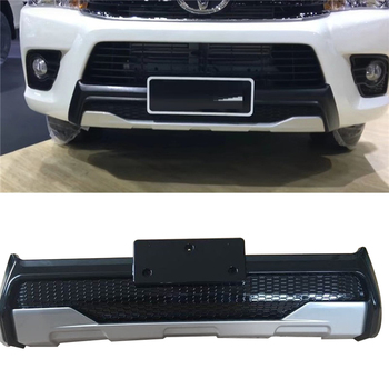 front Bumper body kits cover trims car styling fit for HILUX REVO 2015-2017 PICKUP auto accessories