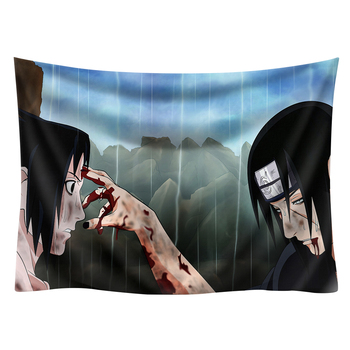 Japan Anime Boho decor Naruto wall hanging hippie boho  tapestry picnic mat beach towel mandala tapestry 200*150cm wall art 19