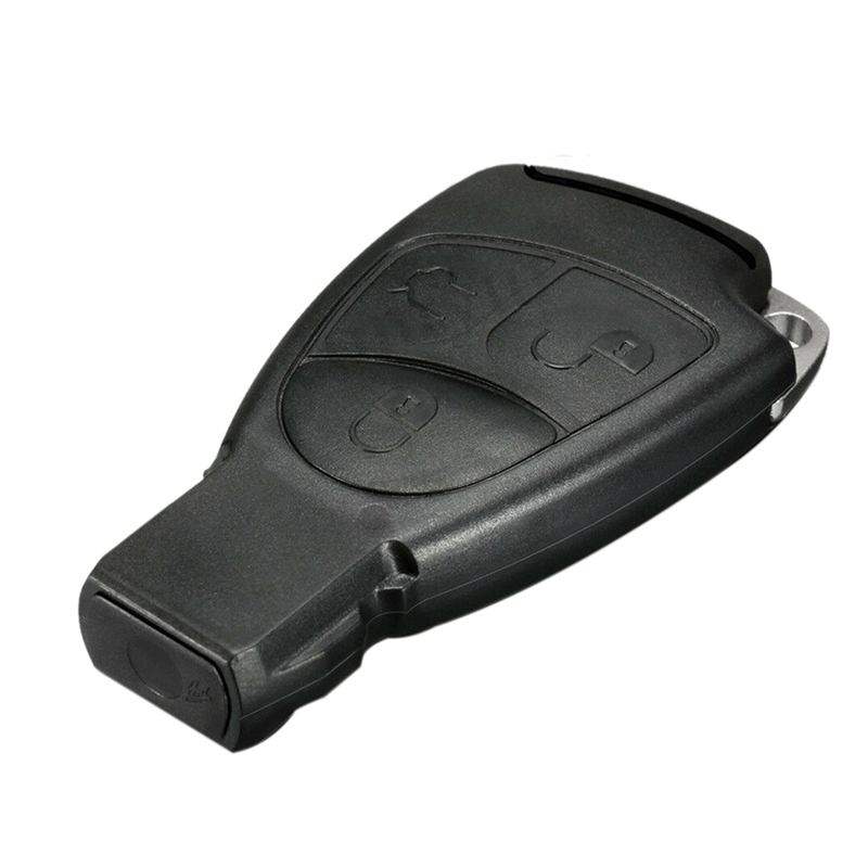 3 Button Remote Key Fob Case Shell for Mercedes Benz R C E S ML CL CLK CLS SLK|Key Shell| |  - title=