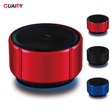 Logam Mini Speaker Bluetooth V4.2 Nirkabel TF Kartu FM Musik Hansdfree Audio Home Outdoor untuk Xiaomi Ponsel Portabel Stereo(China)