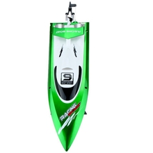 Feilun FT009 2.4G cooling water 4CH Remote Control of RC Outdoor high speed racing boats(green)