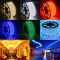 RGB شريط ليد ملون حبل ضوء 20-100 متر 60 المصابيح/متر الترا برايت 5050 سمد قطاع ضوء في الهواء الطلق حديقة ديكور المنزل مقاوم للماء