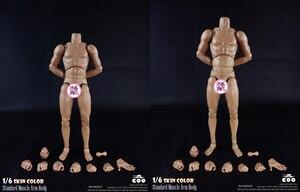 Image 3 - COOMODEL 1/6 mężczyzna mięśni ciała Model BD007 BD008 BD009 BD010 kolekcjonerskie zabawki figurki akcji