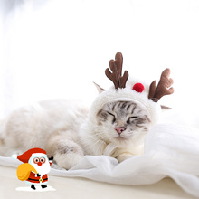 Costume Puppy Kitten-Caps Funny Christmas Party Cat Pet Xmas Cloak Dress-Up Dog-Mantle