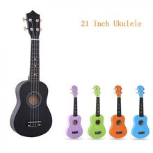 21 Inch Colorful Acoustic Ukulele Uke 4 Strings Hawaii Guitar Guitarra Musica Instrument for Kids and Music Beginner hot sale strong wind 3 4 size 36 inch classical acoustic guitar 6 nylon strings basswood guitarra for beginner kids unisex semi closed