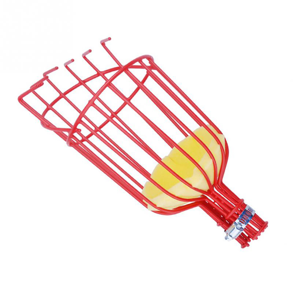 Aluminum Deep Basket Fruit Picker  Head Convenient Catcher Picking Garden Tools