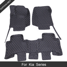 Car-Mats Universal X-Line Custom 3D for Kia Rio II EU 2005-Now Waterproof/floor-Mats