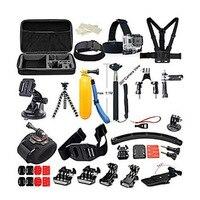 Model GoPro HERO7 siyah eylem kamera aksesuarları kiti git Pro Hero 6 5 4 aksesuarları kamera git pro hero kamera tutucu
