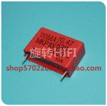 4PCS RED WIMA MKP10 0.47UF 630V p27.5mm original new MKP 10 474/630V audio 470nf film 474 PCM27.5 hot sale 470nf/630v