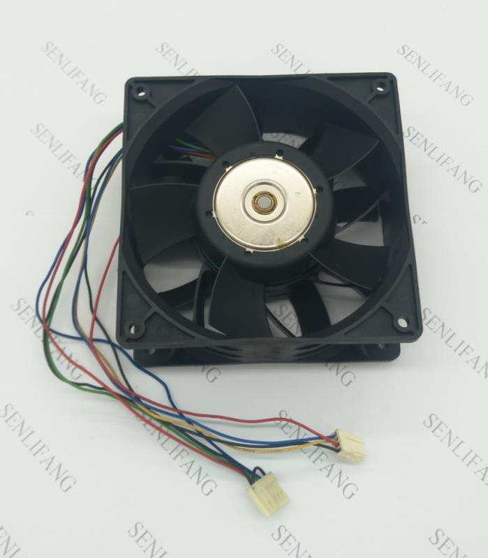 For Original GFB1212VHG Computer Blower Cooling Axial Fan DC 12V 3.4A 12050 120*120*50mm 3400RPM 8 Wires Free Shipping