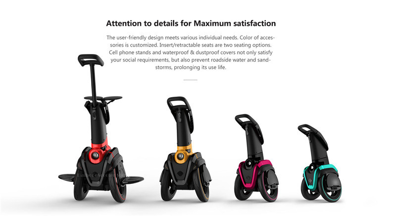 I-ROBOT-GO Electric Scooter Adults Two Wheel Self Balancing Scooters 48V 1200W Powerful Electric Scooter With SeatAPP  (14)