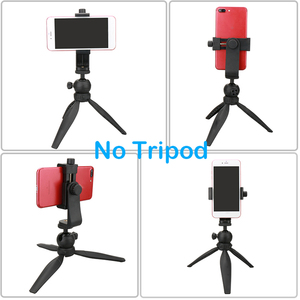 Image 2 - 2020 neue Universal Telefon Stativ Mount Adapter Handy Clipper Stand Vertikale 360 Grad Einstellbare Halter