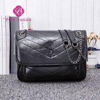 Pink Sugao luxury handbags women bags designer leather purse and handbag fashion chain bags for women beach bag shoulder bag new