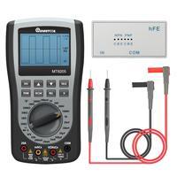 MT8205 2 in 1 Digital Intelligent Handheld Storage Oscilloscope Multimeter Current Voltage Resistance Frequency DiodeTester|Multimeters| |  -