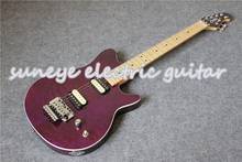High Quality Quilted Finish Music Man Style Electric Guitar Tremolo Maple Guitar Neck Guitarra Electrica Free Shipping все цены