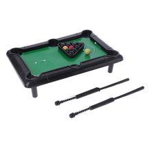 Toy Pool Billiard Tabletop Game-Set Desktop Educational Mini Children Parent-Child-Interaction