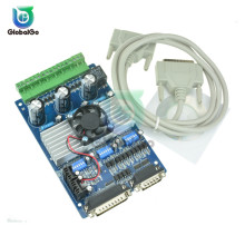 TB6560 3.5A Stepper Motor Drives CNC Stepper Motor Board Controller 3 Axis  DC Motor Drive Board + CD Softwar Wire Connectors leadshine network drives dm3e 556 series ethercat stepper drives with coe and cia 402 protocols control stepper motor nema23 24