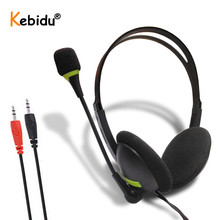 Computer Headset Microphone Wired with HD AUX